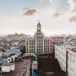 View from the rooftop of Iberostar Parque Central Havana