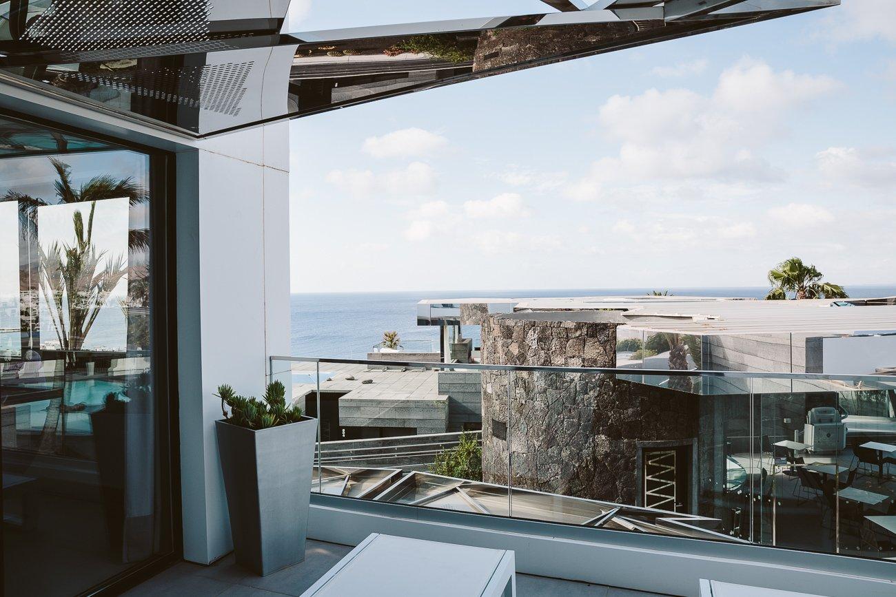 Terrace view of room 606 La Isla Y El Mar Boutique Hotel Lanzarote