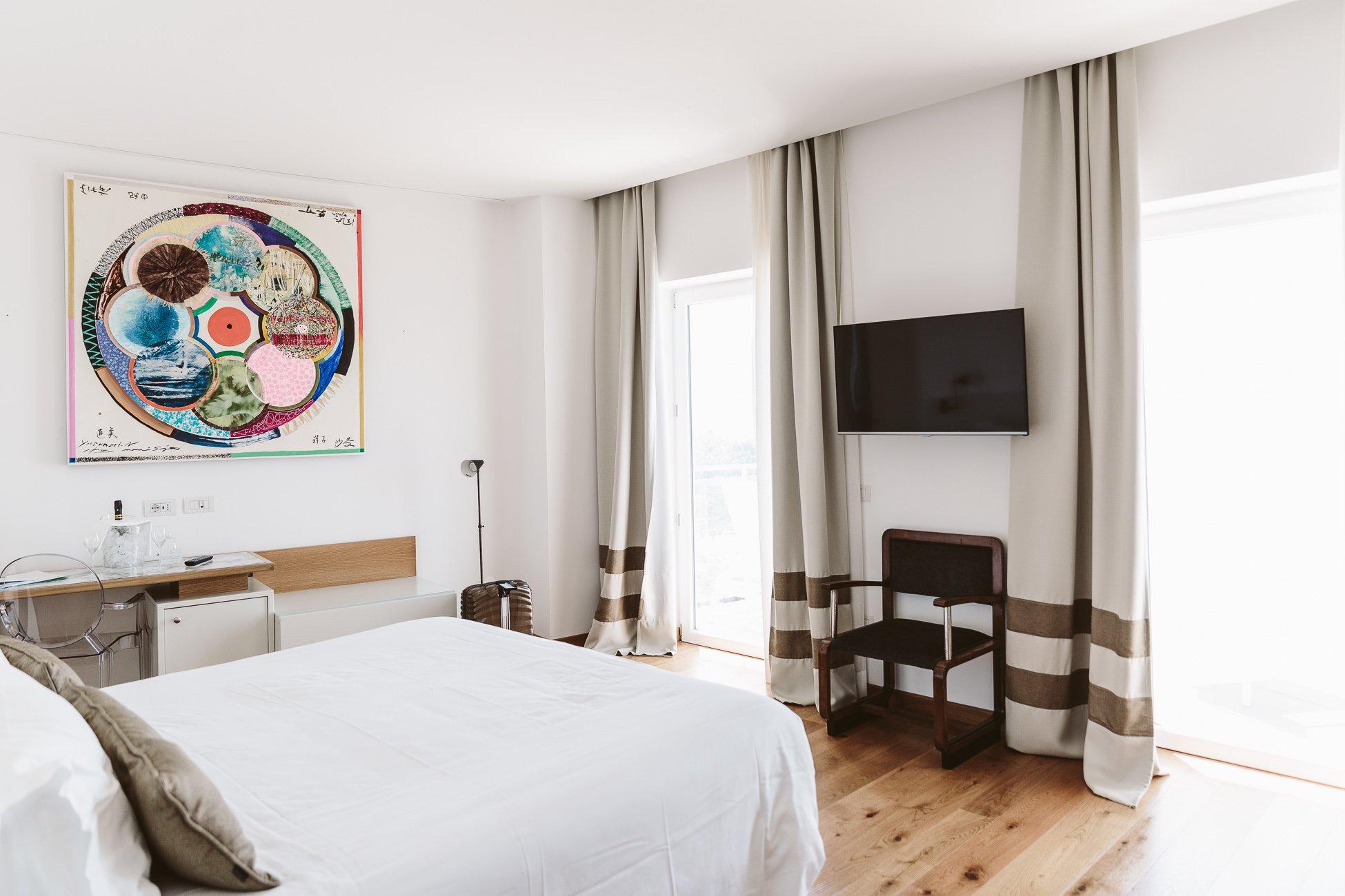 Junior Suite at Art Hotel Villa Fiorella in Massa Lubrense