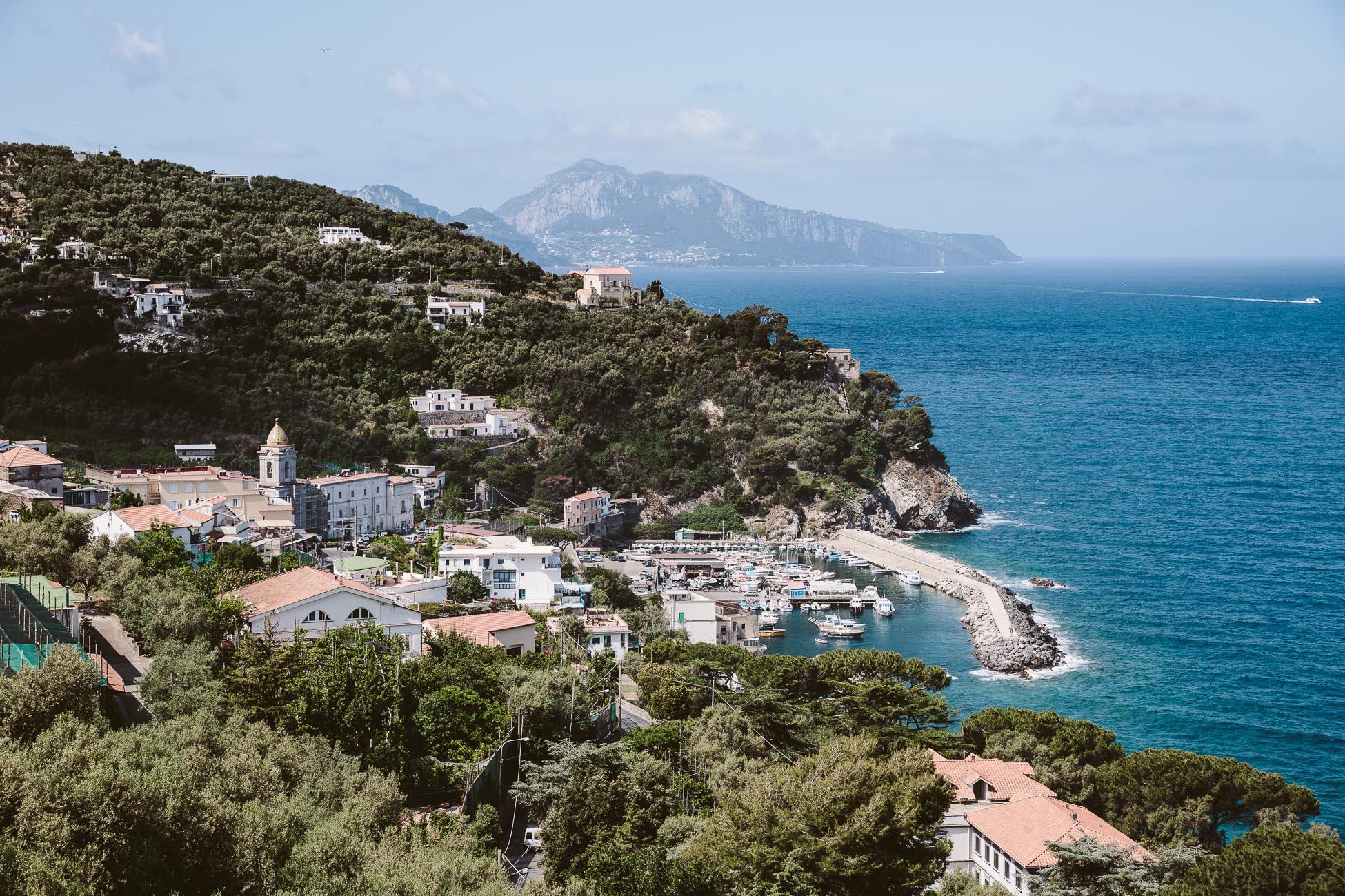 Views of Massa Lubrense Sorrento Coast