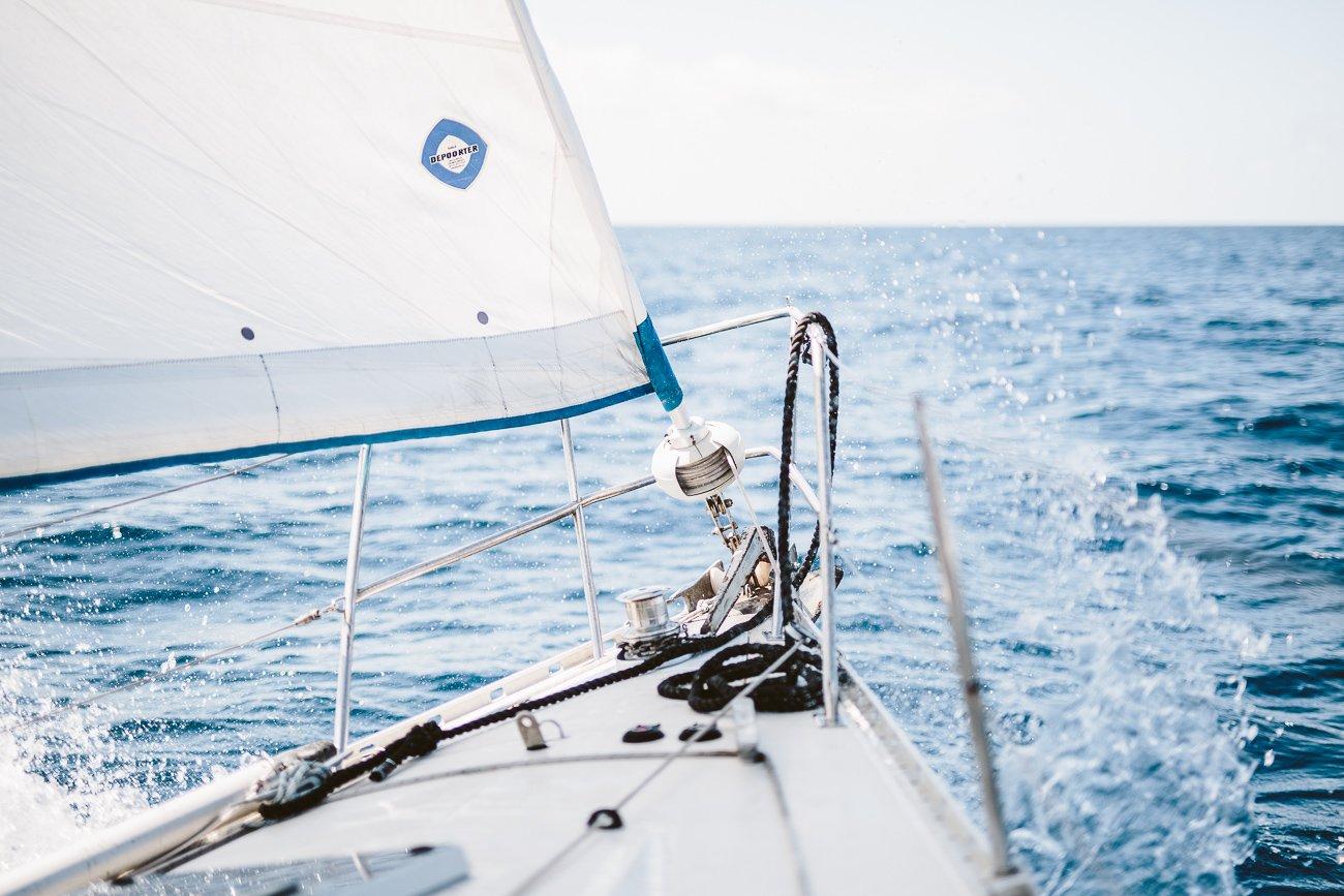 A sailing trip of Lanzarote