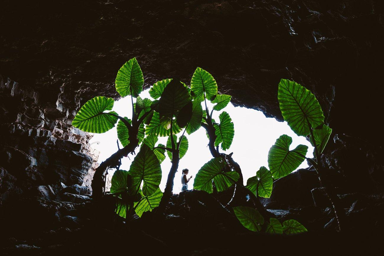 Cueva de los Verdes by César Manrique in Lanzarote