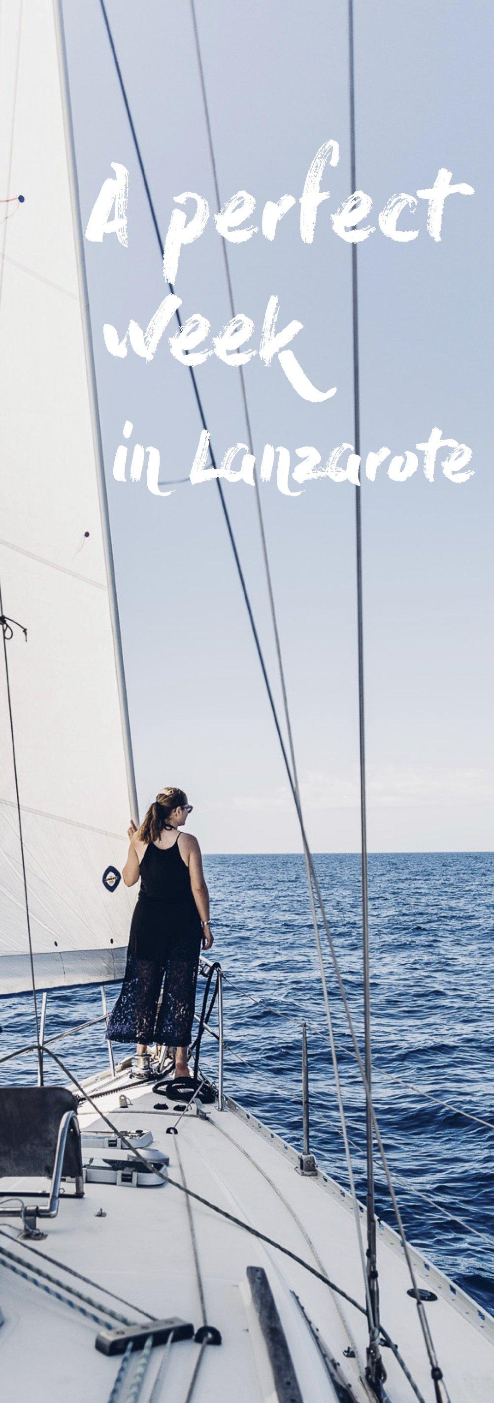 One week in Lanzarote Pinterest