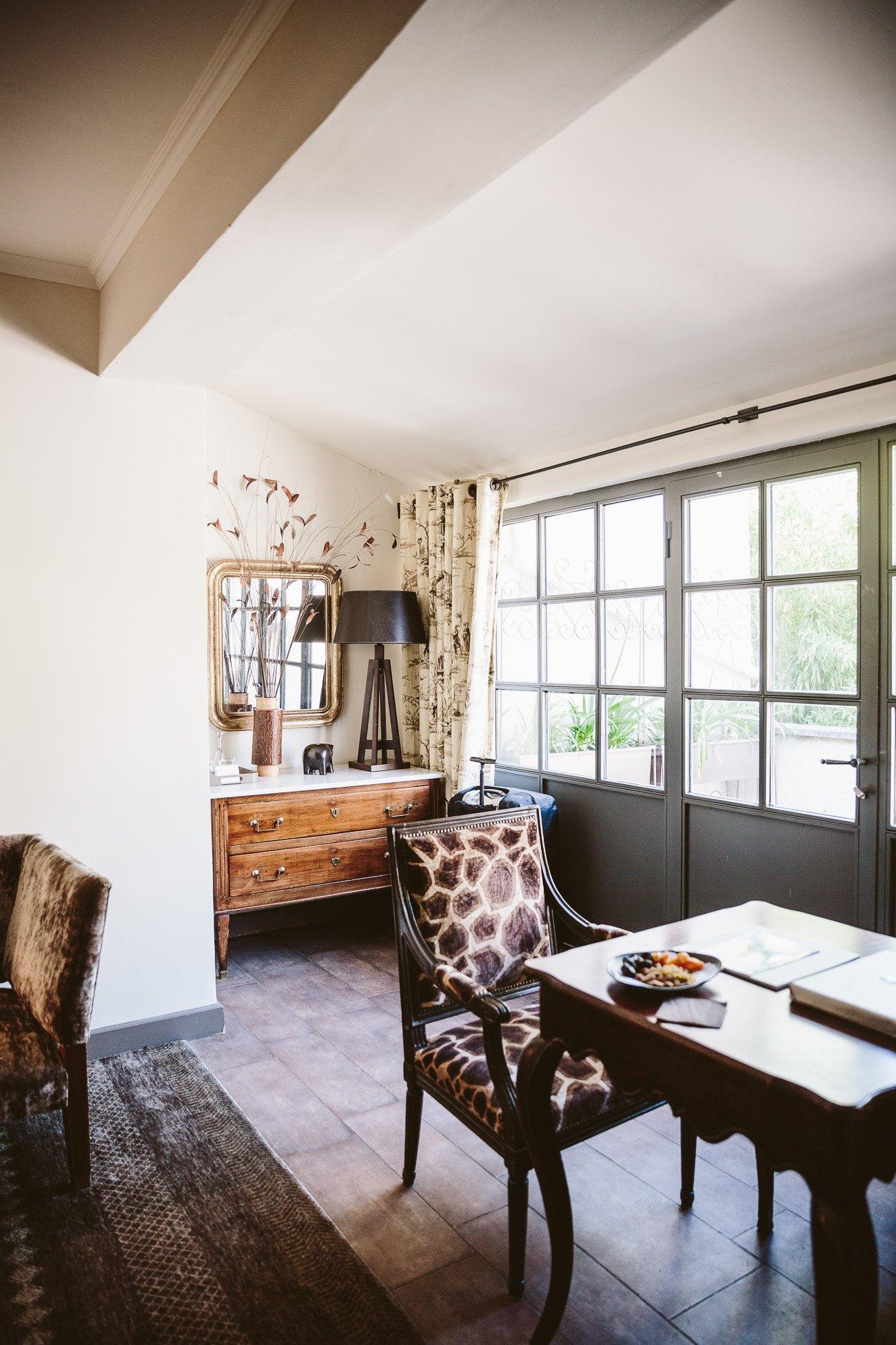 Room at Baumanière Hotel