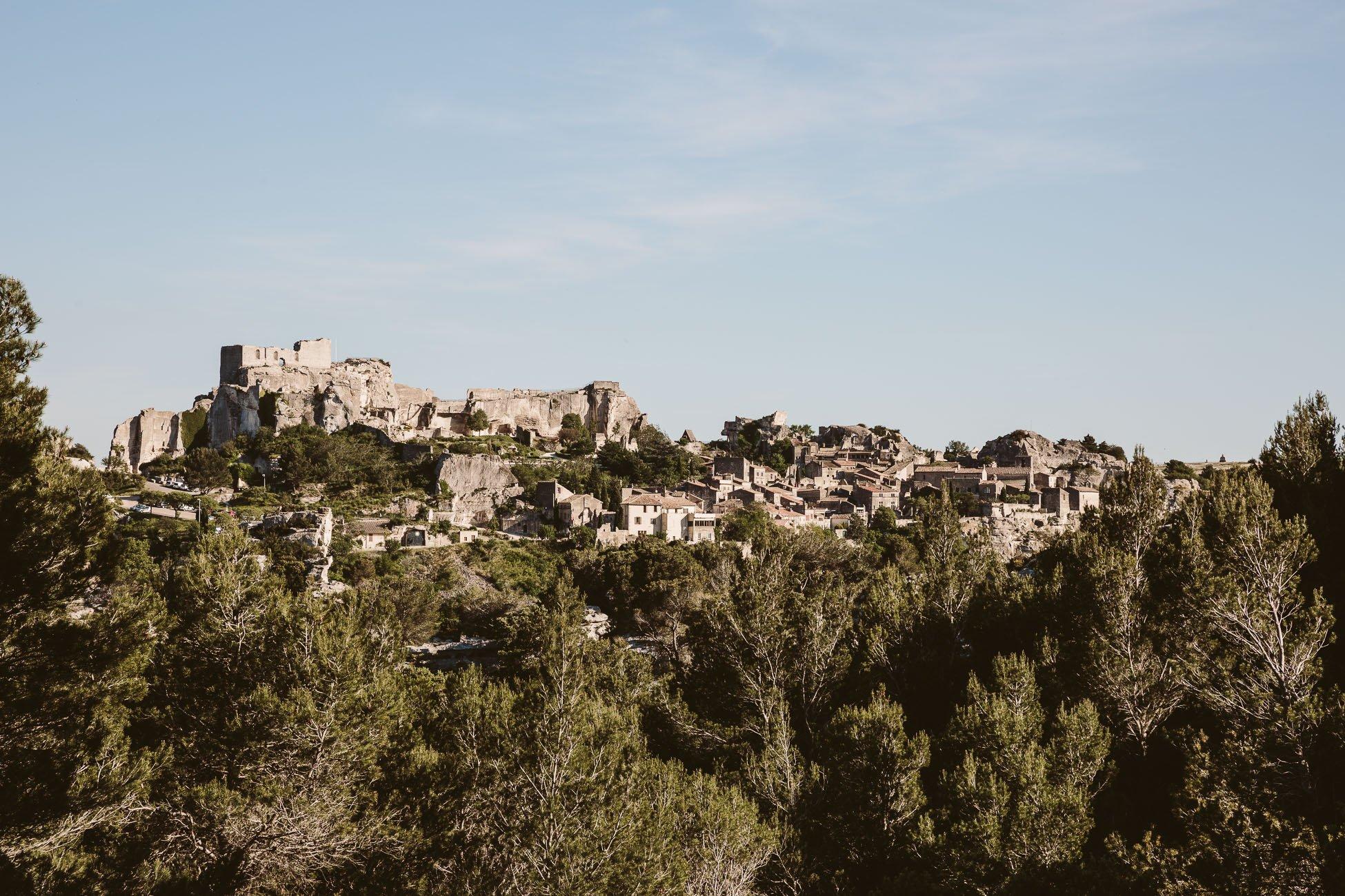 Hilltop village of Les Baux de Provence