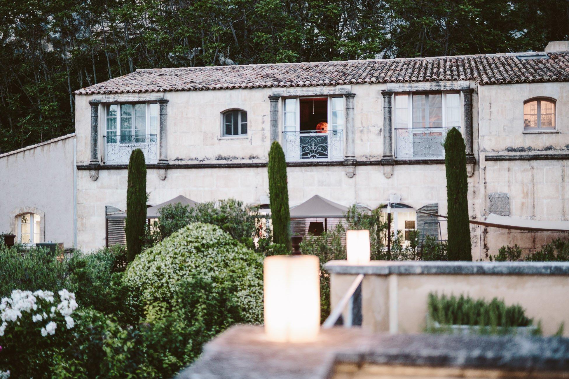 L'Oustau de Baumanière in Les Baux de Provence