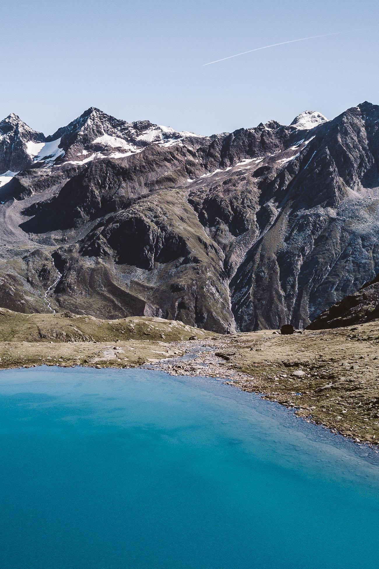 Wannenkarsee Oetztal Alps Tyrol