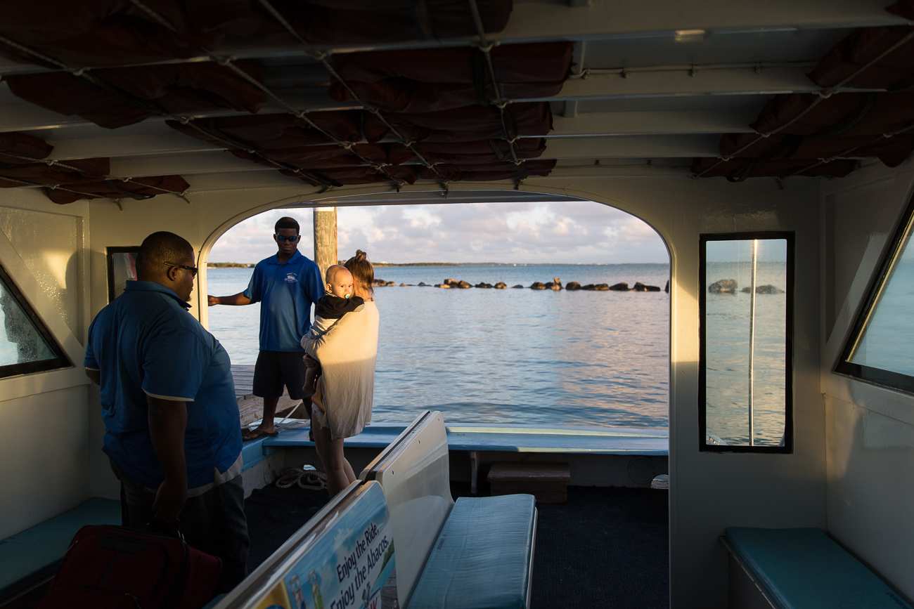 The local ferry between Abaco Island and Elbow Cay