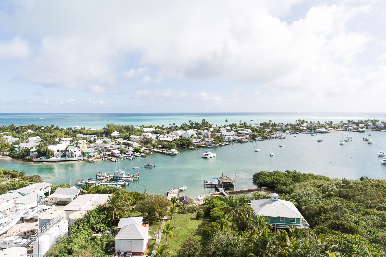 The view from the Lighthouse at Elbow Cay