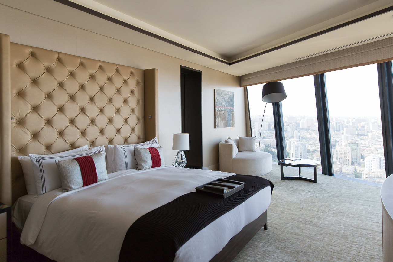 Room at Fairmont Hotel Baku