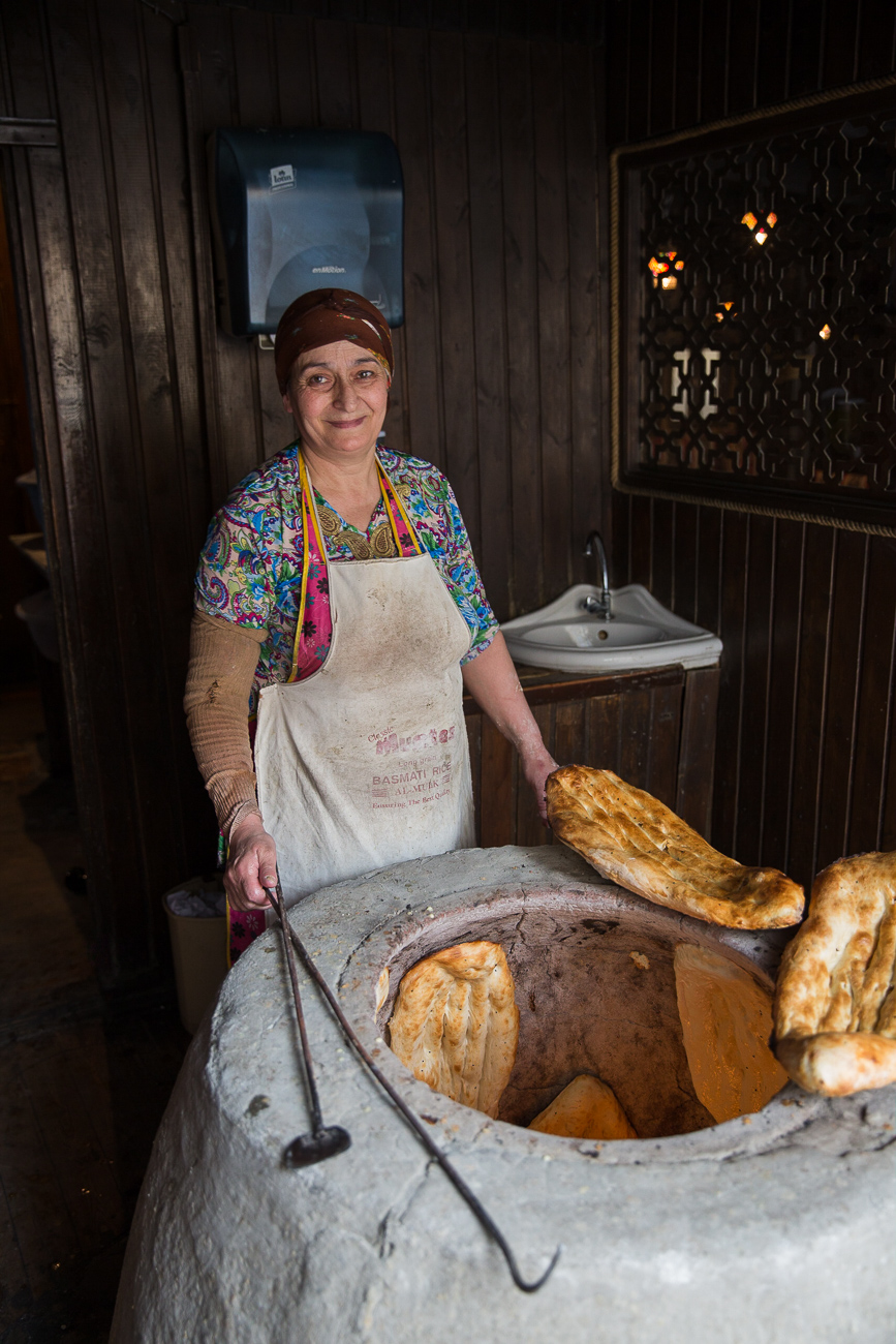 Traditional bread of Azerbaijan
