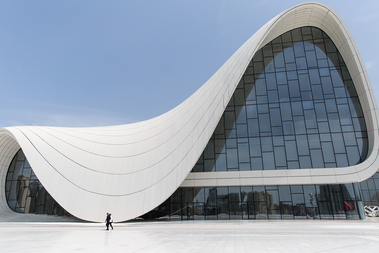 Heydar Aliev Center in Baku Azerbaijan by Zaha Hadid
