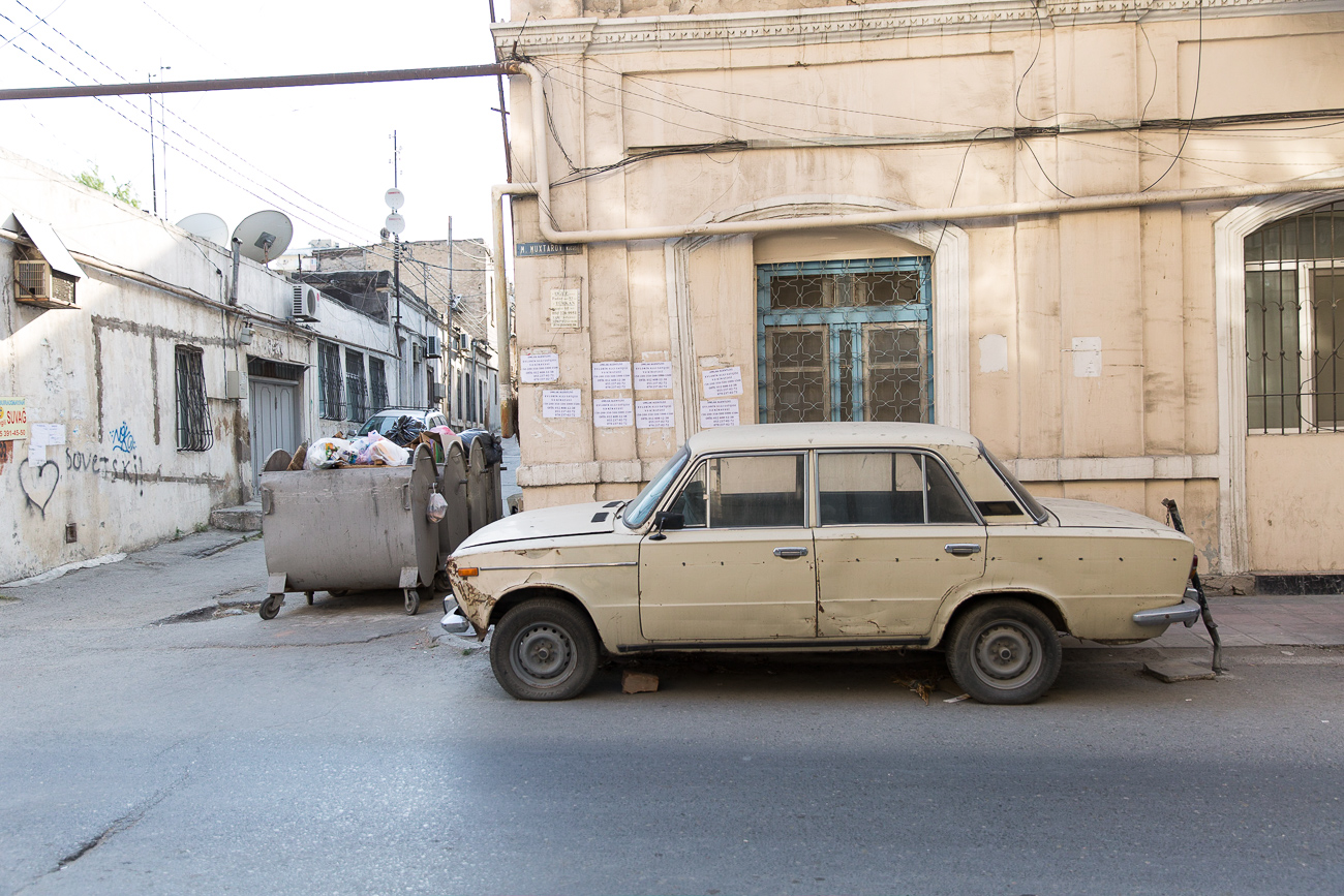 Soviet Car in Baku