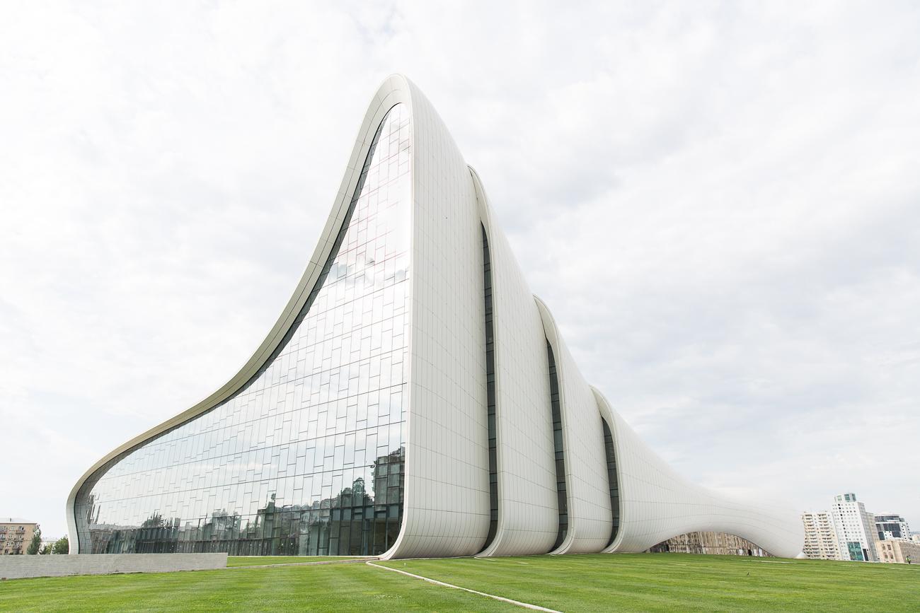 Heydar Aliyev Centre Baku by Zaha Hadid