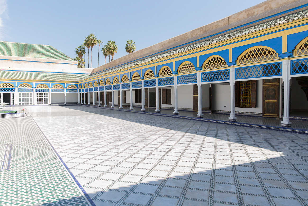 Palais Al Bahia in Marrakech