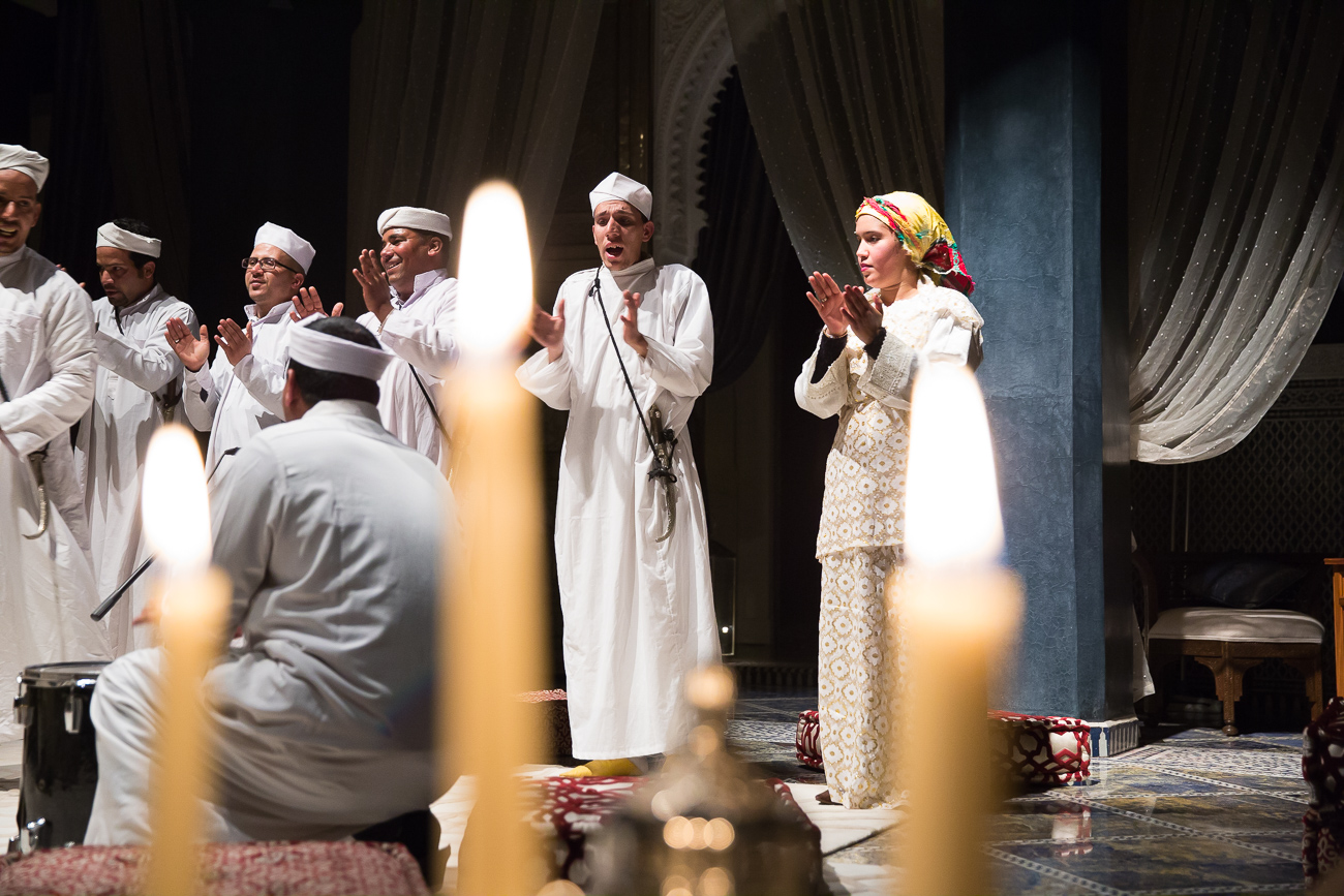 Traditional singers of Morocco