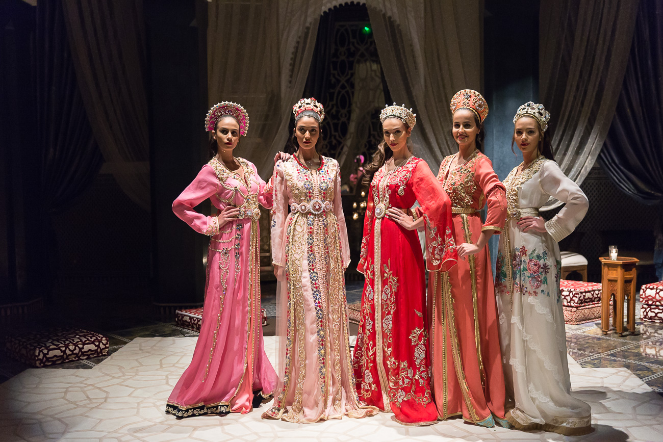 Caftan Fashion Show at Hotel Royal Mansour