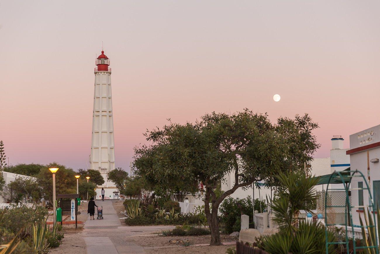 Lighthouse Ilha do Farol, Farol Island, Algarve