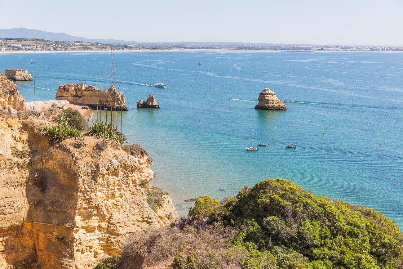 Cliffs of Algarve coast