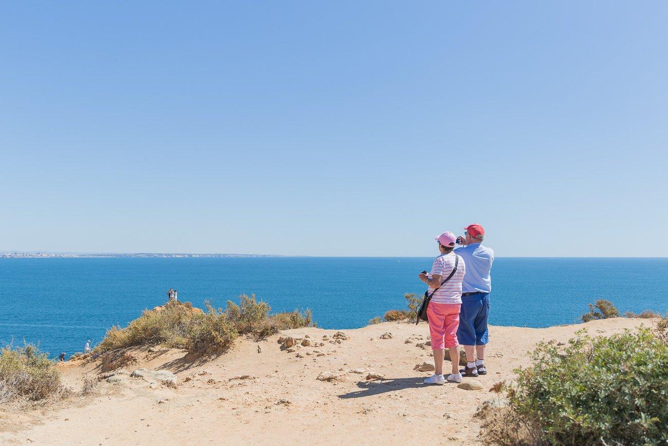 Algarve tourists