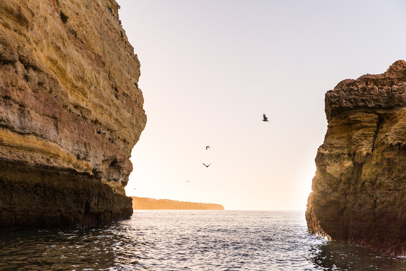 Sunrise at the Algarve Coast