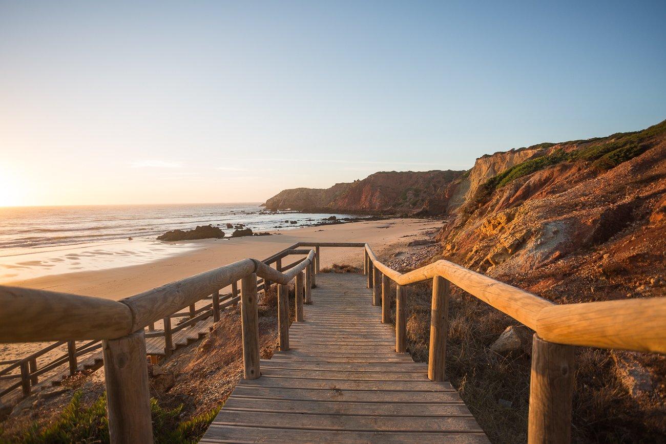 Praia do Amado Algarve Portugal