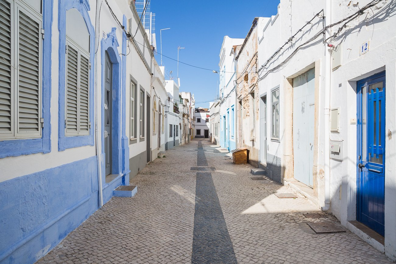 Streets of Olhão