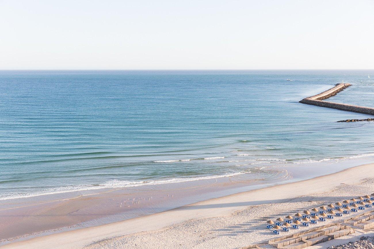 Beaches at Ilha do Farol, Farol island, Algarve