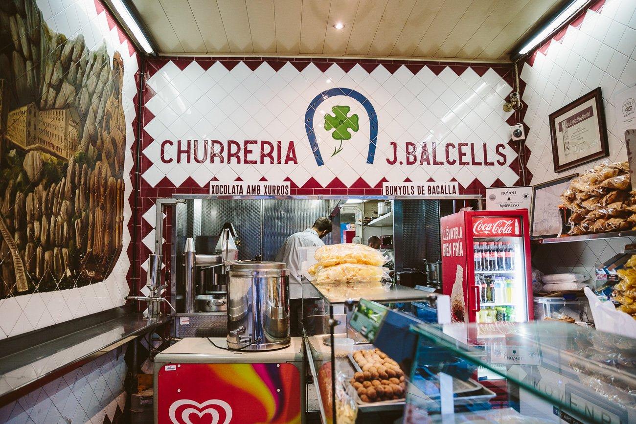 Churreria J. Balcells Barcelona