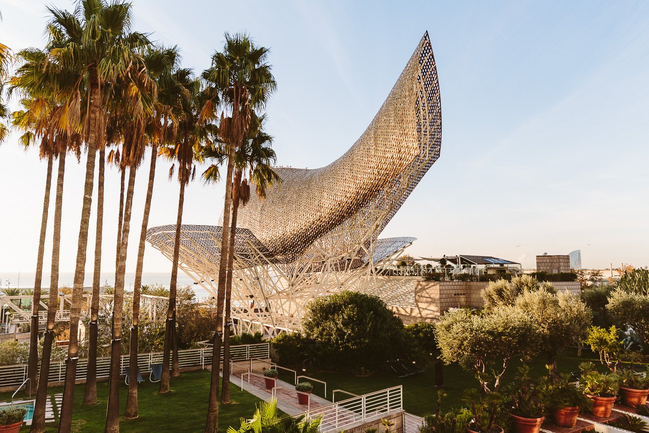 Frank Gehry's Fish in Barcelona