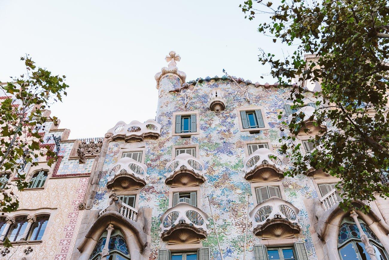 Casa Batlló by Gaudí in Barcelona