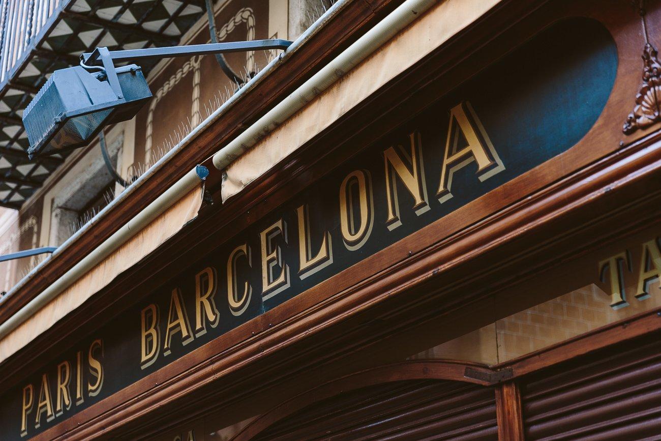 Placa de Pi market Barcelona