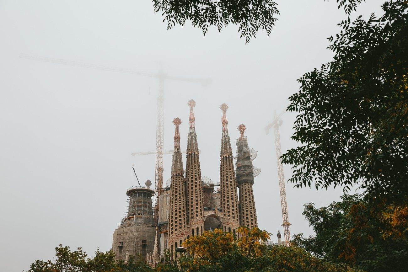 Gaudí Sagrada Familia Barcelona
