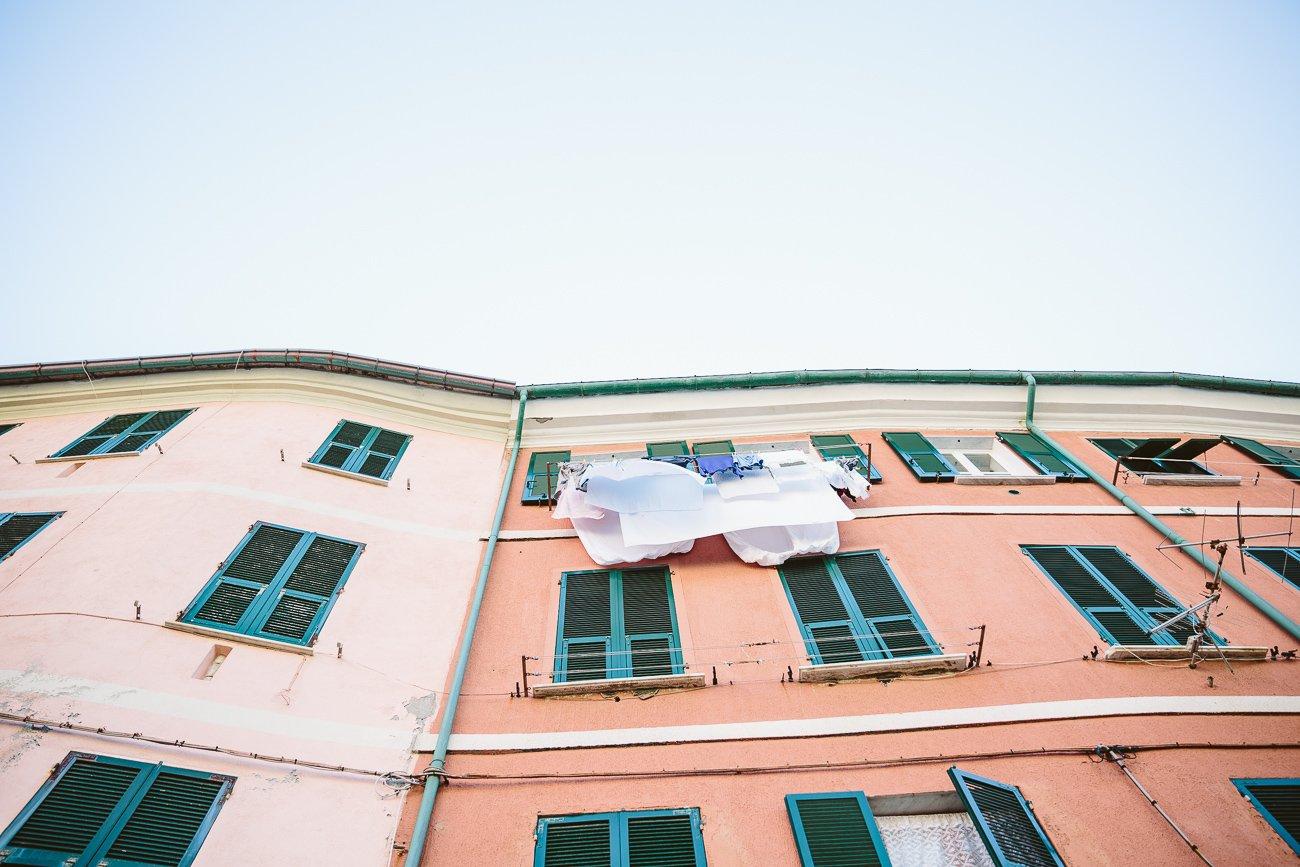 Vernazza Laundry in Cinque Terre
