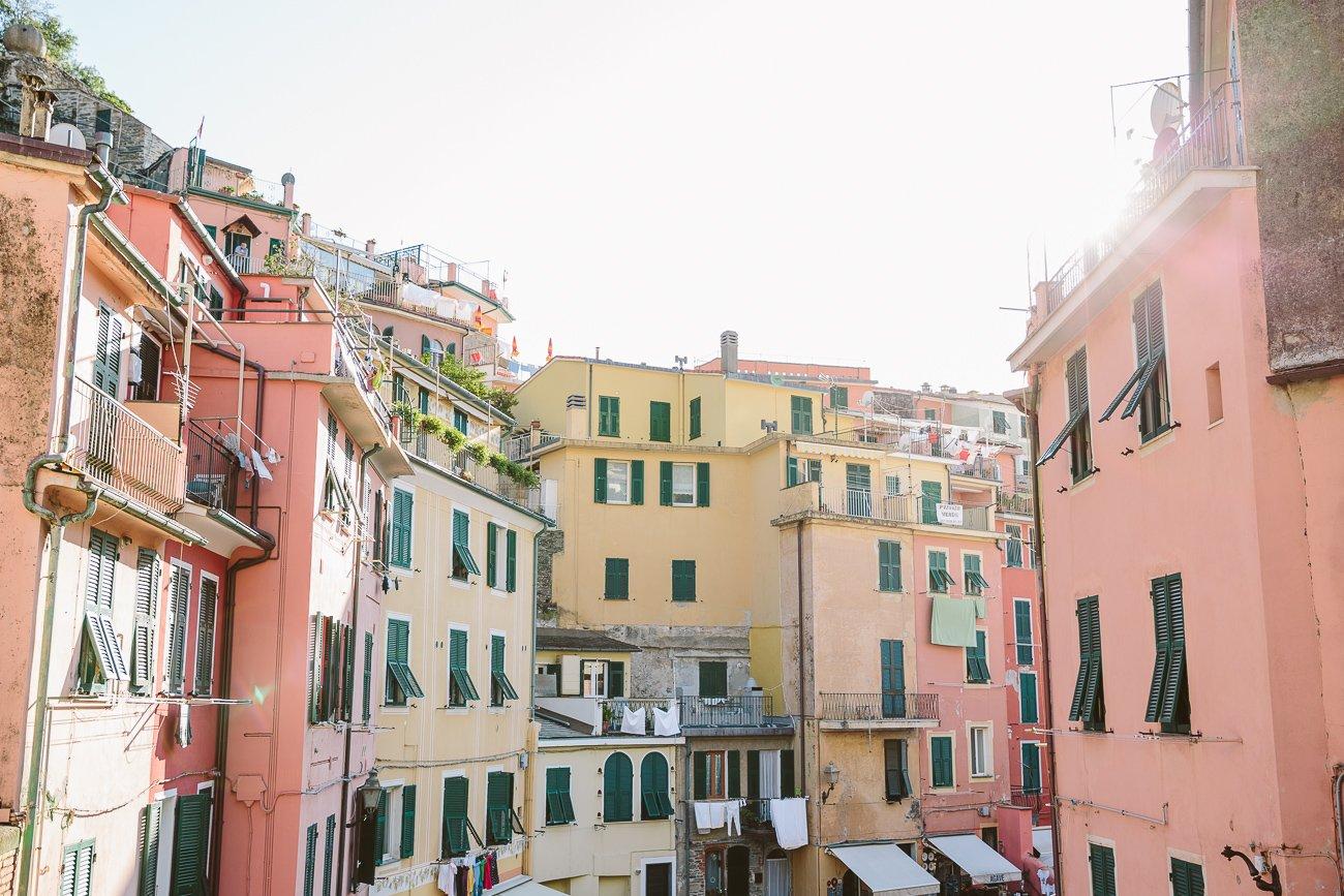 Vernazza Main street Cinque Terre