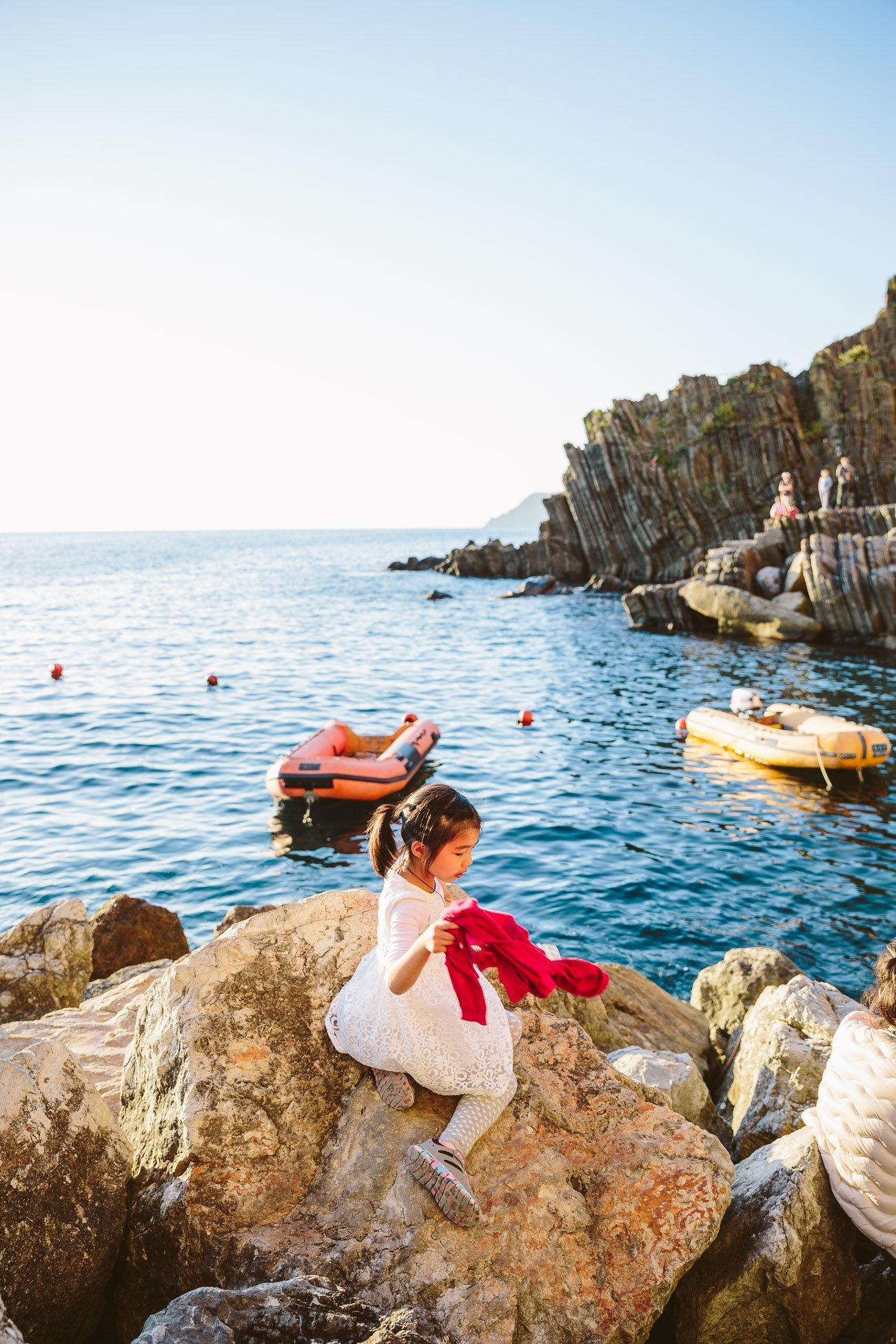 Harbour of Riomaggiore Cinque Terre