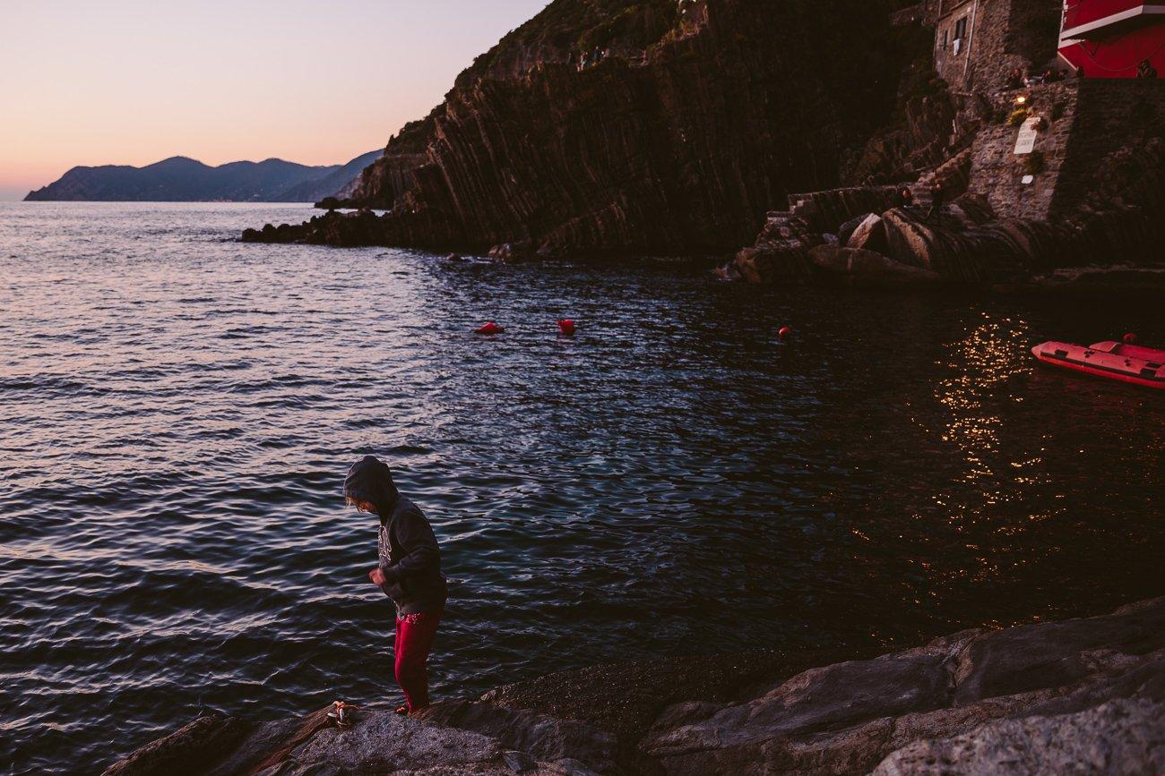 Sunset Riomaggiore Cinque Terre
