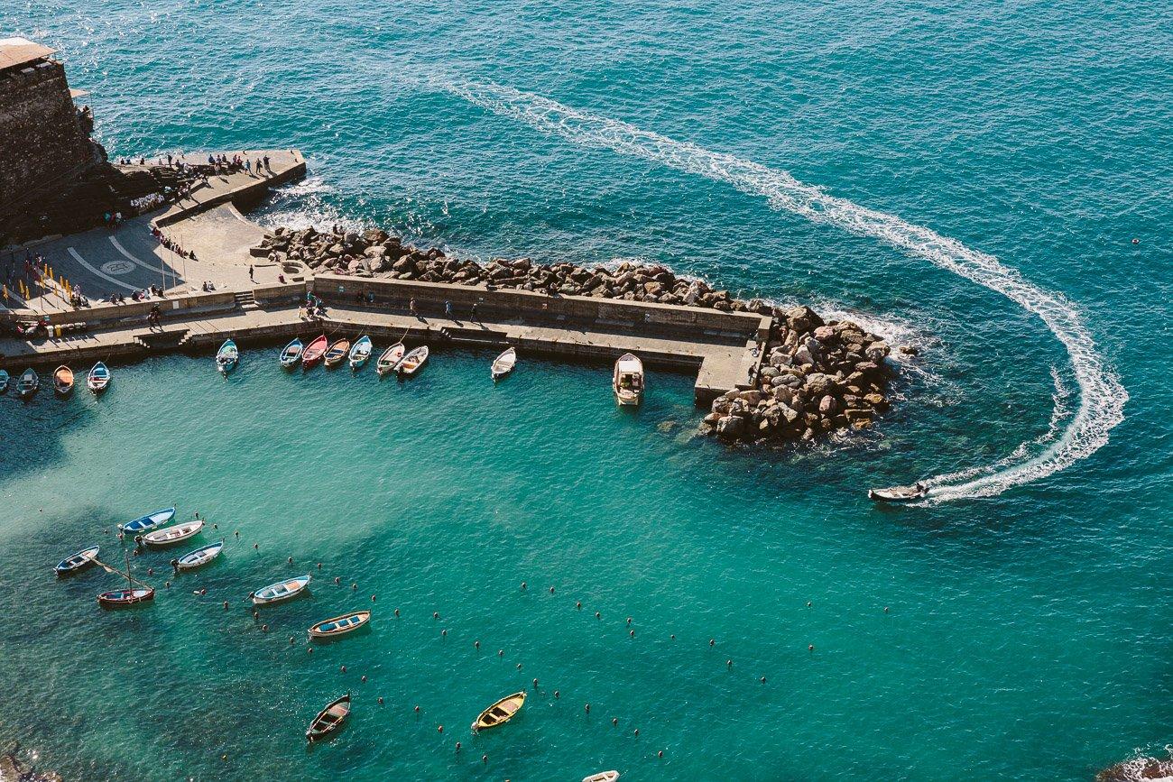 Harbor of Vernazza Cinque Terre