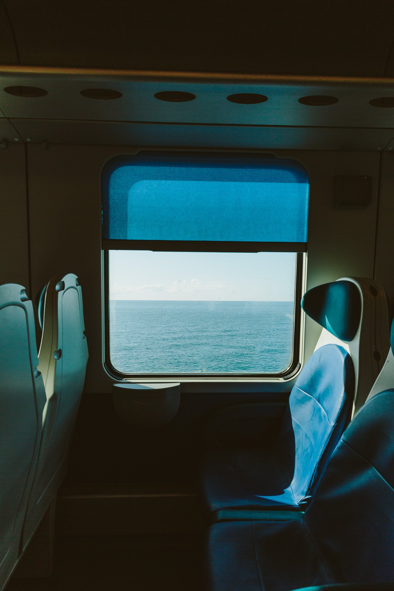 Train ride to Cinque Terre