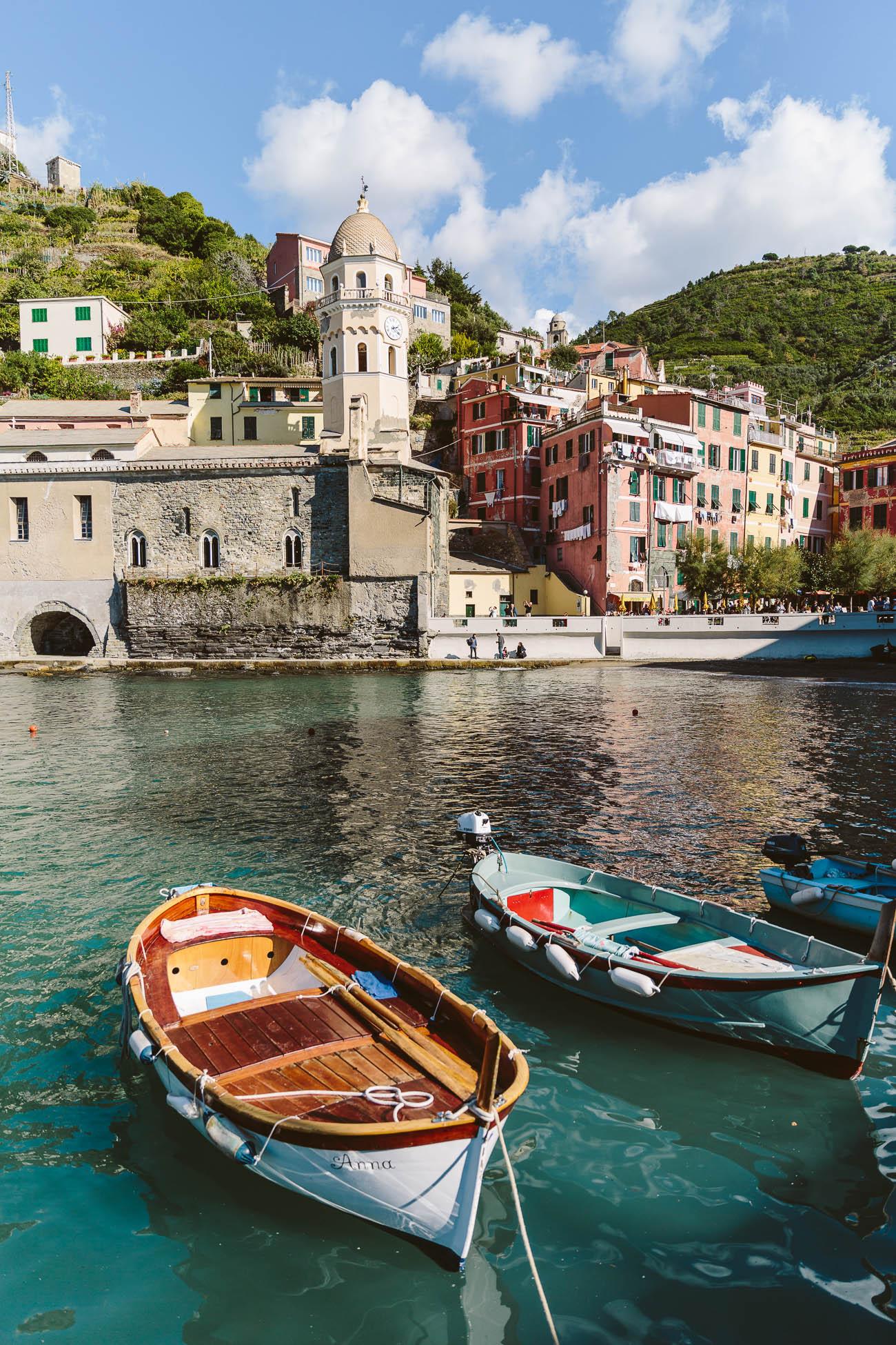 Harbour of Vernazza Cinque Terre
