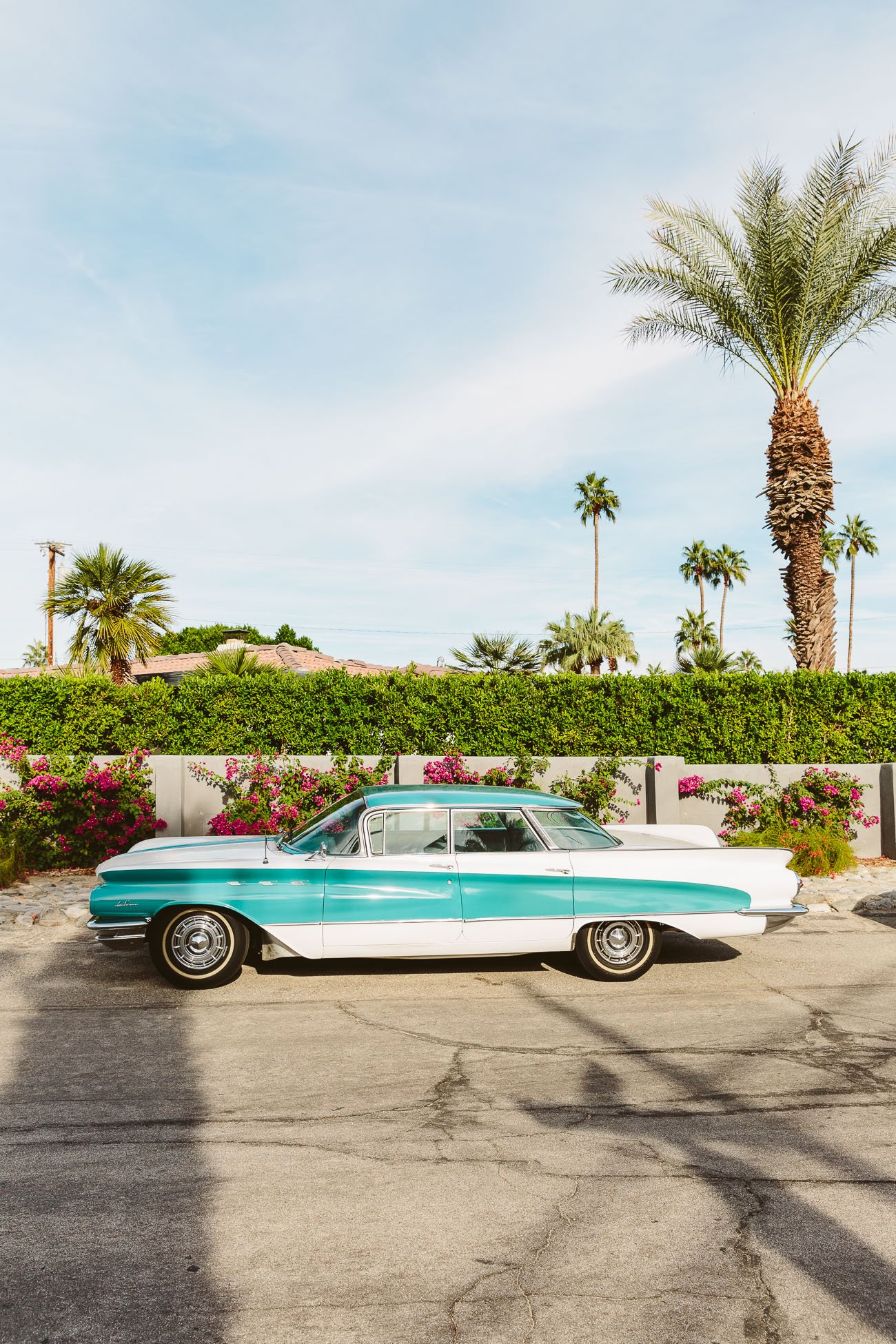 Vintage Car in Palm Springs