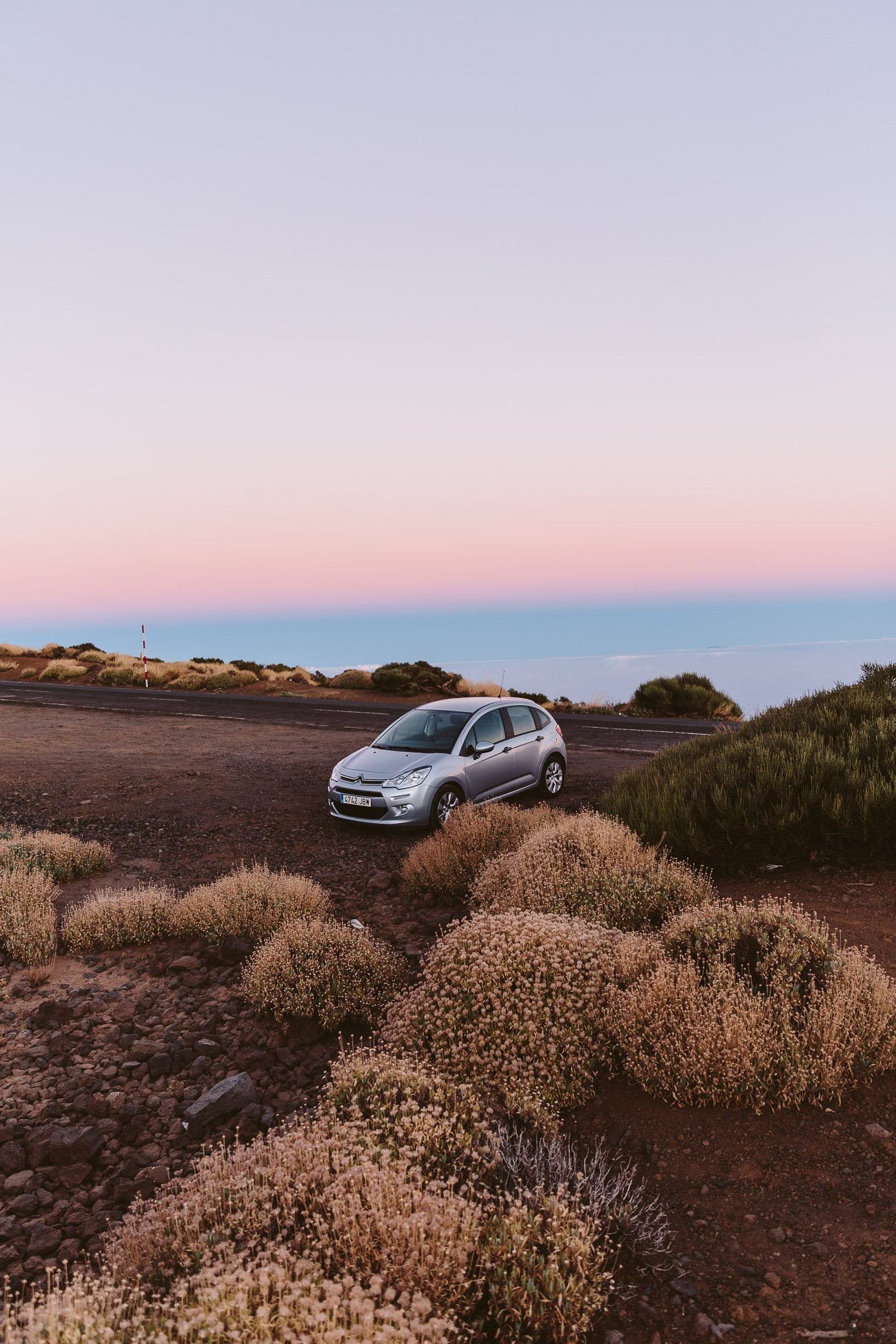 Rent a car in Tenerife and go up to El Teide