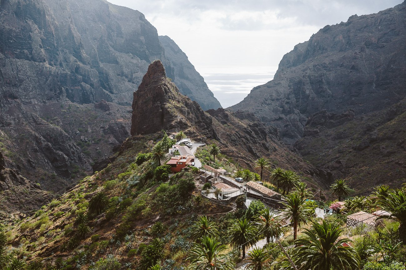 A view of Masca Tenerife