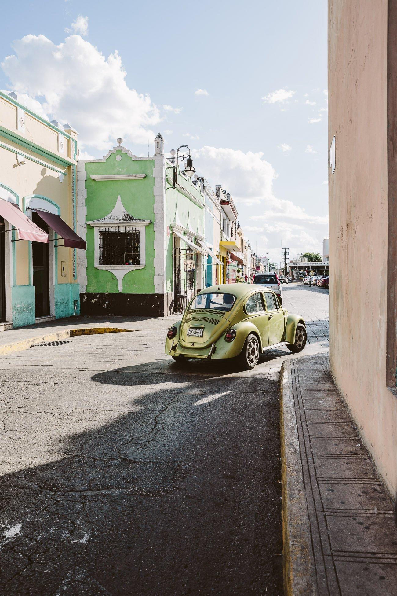 Streets of Mérida Yucatán Mexico