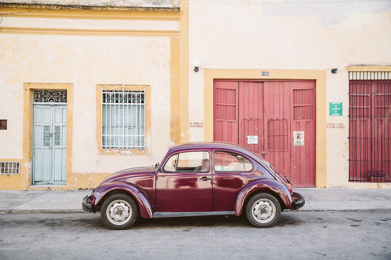 VW Beetle in Mérida Yucatán Mexico