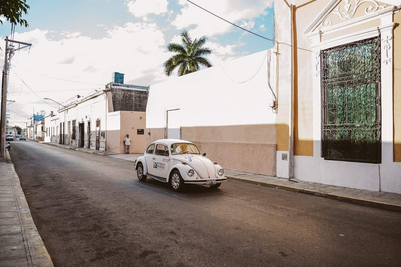 VW beetle in Merida, Mexico