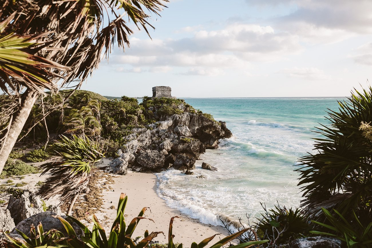 Visit the Mayan Ruins in Tulum, Mexico