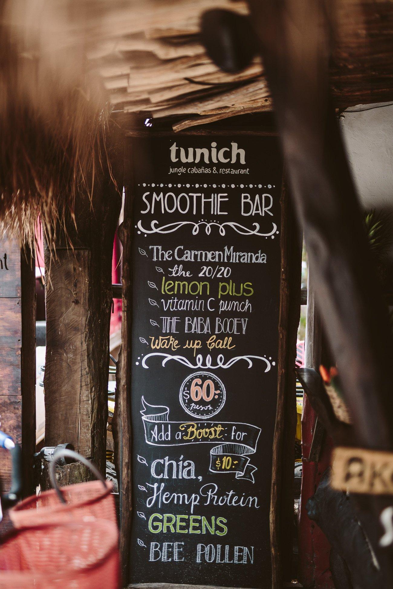 Tunich Tulum Brunch & Smoothie Bar