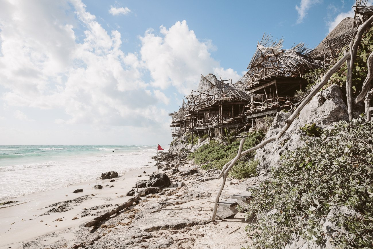 Azulik Resort Tulum beach front