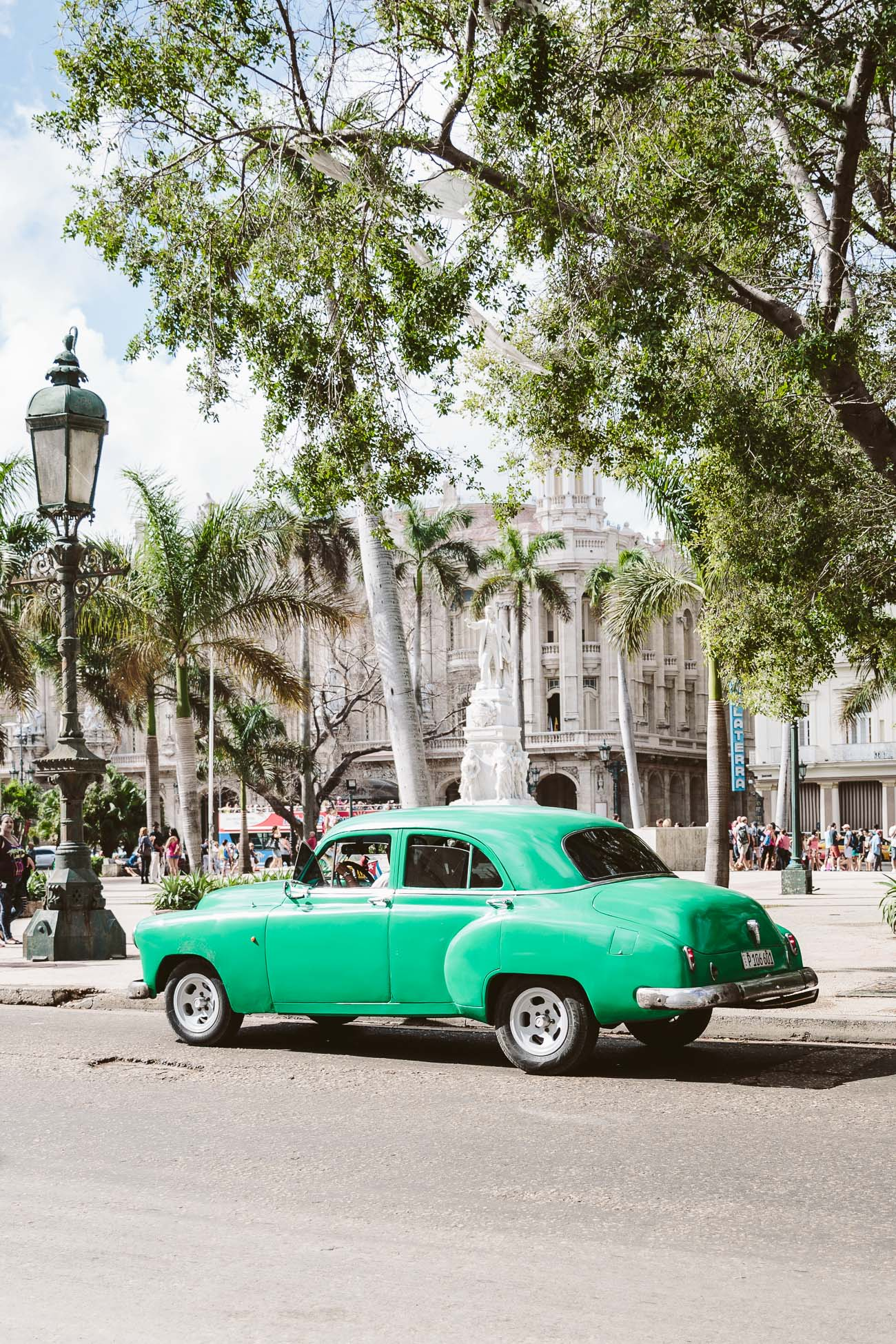 Vintage car in Havana Cuba